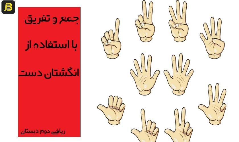 جمع-و-تفریق-اعداد-با-استفاده-از-انگشتان